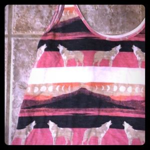 Urban Outfitters BDG Wolf Tank Top